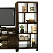 builtin bookcase and room divider interior design styles