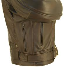 biker jacket men u0027s d pocket distress brown biker jacket hillside usa