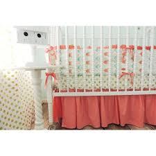 Pink And Aqua Crib Bedding Coral Aqua Crib Bedding Medium Size Of Baby Cribsaqua And Coral