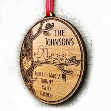 personalized family ornament gift