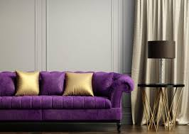 Sofas With Pillows by More Comfortable At Home With A Luxurious Comfortable Purple Sofa