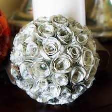 How To Make Decorative Balls Decorative Paper Rose Spheres Diy
