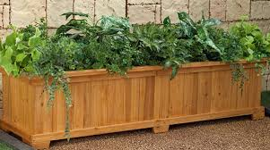 wood planters all about planters