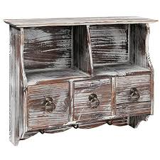 Shabby Chic Wall Cabinets by Shabby Chic Wall Shelves Amazon Com