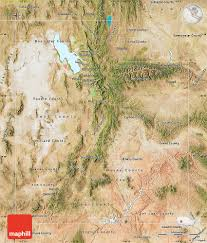 Utah Maps by Satellite Map Of Utah