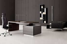 black modern desk office furniture gorgeous modern designs home office computer