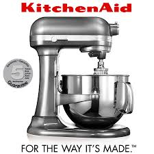 Kitchenaid Artisan Mixer by Kitchenaid Artisan Stand Mixer 6 9 L Medallion Silver Cook