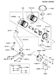 kawasaki engine diagram kawasaki wiring diagrams instruction