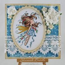 mistletoe fairy whimsy stamps