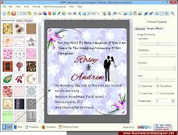 wedding invitation software new wedding invitation card design software wedding invitation