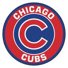 cubs logo roundel mat 27