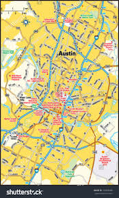Austin Texas Map by Austin Texas Area Map Stock Vector 143948080 Shutterstock