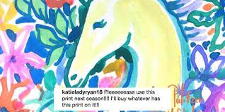 new lilly pulitzer unicorn print photo