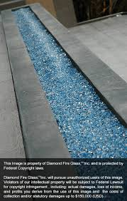 Firepit Glass Bali Blue Reflective Pit Glass 25 Lb Package