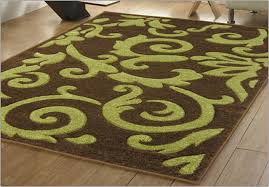 Green And Brown Area Rugs Lime Green And Brown Area Rugs Rug Designs Regarding Remodel 19