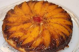 mango upside down cake with cajeta rum glaze fresh food in a flash