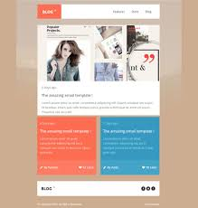 best newsletter design best mobile newsletter templates 20 free sle exle