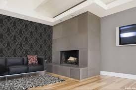 Decorate Living Room Black Leather Furniture Delightful Living Room Interior Decorating With Wallpaper As Well