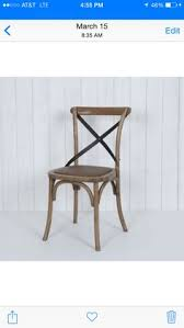 Cross Back Bistro Chair New Noosa Oak White French Bistro Style Timber Cross Back Dining
