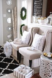 Home Decor Elegant by Neutral And Elegant Christmas Home Tour Setting For Four