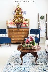 simple christmas decor ideas home tour on sutton place