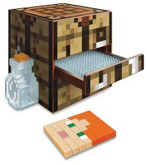 amazon com minecraft crafting table toys u0026 games