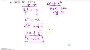 algebra 2 solving quadratics and end behavior sol review youtube