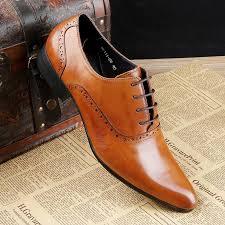 fashion brown tan black brown mens dress shoes flats genuine