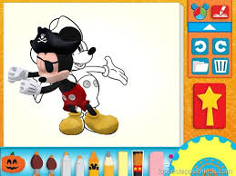mickey mouse clubhouse paint u0026 play kids apps ipad iphone