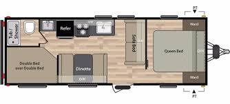 keystone travel trailer floor plans keystone summerland rvs for sale camping world rv sales