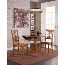 round dual drop leaf dining table international concepts unfinished round drop leaf dining table t