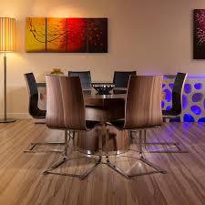 chair miami 5430 60 5pc high gloss dark grey chrome dining table gallery of miami 5430 60 5pc high gloss dark grey chrome dining table set chairs 1950s and 134