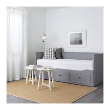 Ikea Hemnes Sofa Table by Hemnes Day Bed Frame With 3 Drawers Grey 80x200 Cm Ikea
