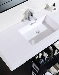 Wall Mounted Vanity Sink Bliss 48