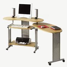 Schreibtisch In Buche Computertisch Schreibtisch Mit Auszug In Buche Nachbildung Und