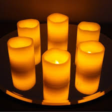 led wax votive candles