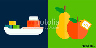fruits delivery ship cargo sea transportation and fruits delivery vector