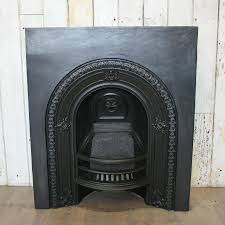 antique victorian arched fireplace insert salvoweb com