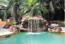 Fake Rocks For Landscaping by Oasis Swimming Pool Waterfalls Kits Fake Rocks U0026 Fountains