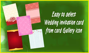 Wedding Invitation Software Wedding Invitation Cards Maker Android Apps On Google Play