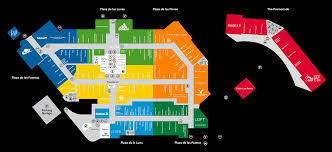 Orlando Florida Map Center Map For Orlando Vineland Premium Outlets A Shopping