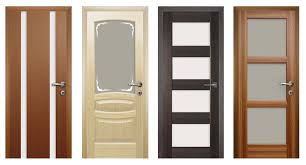 installation of interior doors with their hands