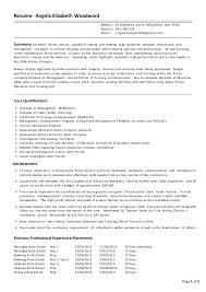 police detective resume angela woodward resume