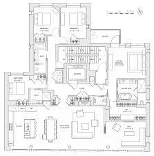 15 leonard street floor plans new york usa