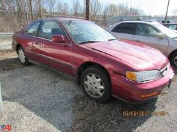 1997 honda accord 2 door coupe auctions international auction city of poughkeepsie pd 10330
