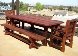outdoor dining table plans witching wood patio furniture plans also a set of large outdoor