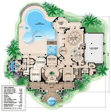 plan 66231we southern influenced plantation estate luxury