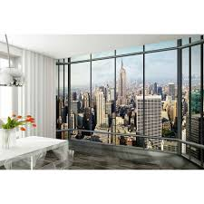 new york skyline wall mural iwoot