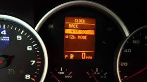 how to adjust the time on a porsche cayenne youtube