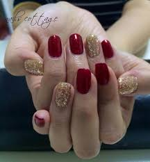 elegant nail designs red and gold google search red and gold
